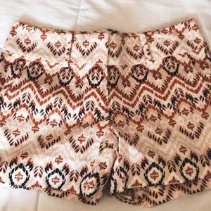 Paisley Cute Ann Taylor Shorts